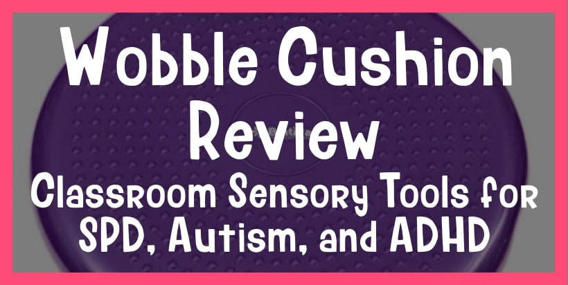 wobble cushion review for adhd