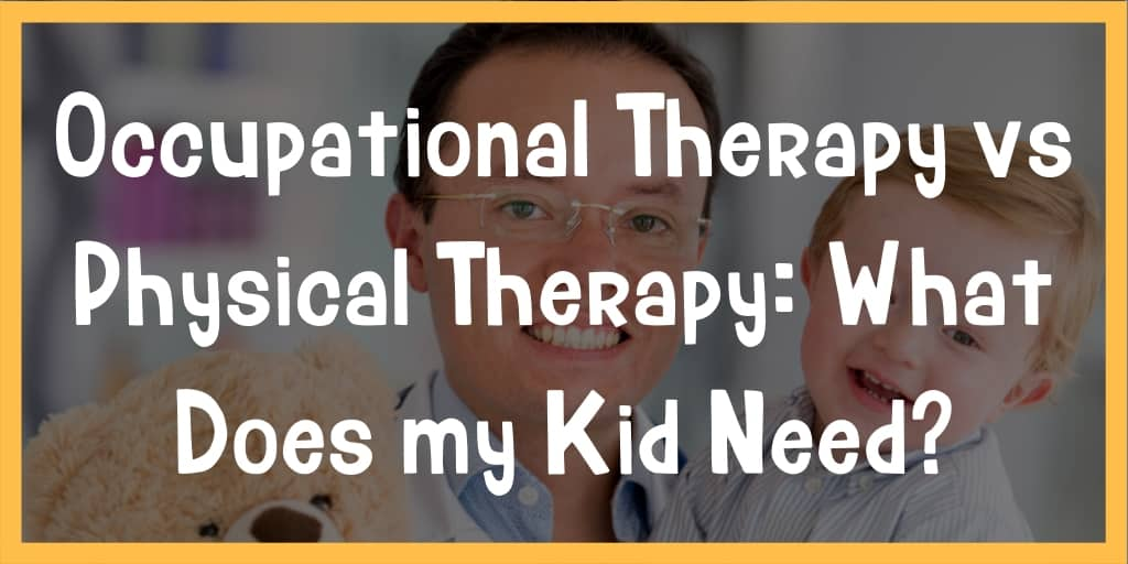 occupational therapy vs physical therapy