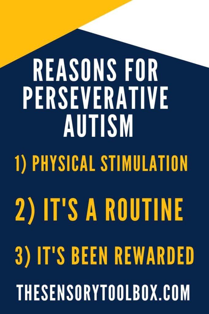 perseverative autism
