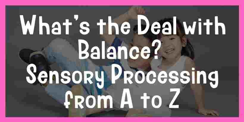 standing balance activities