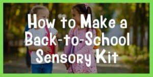 school sensory kit