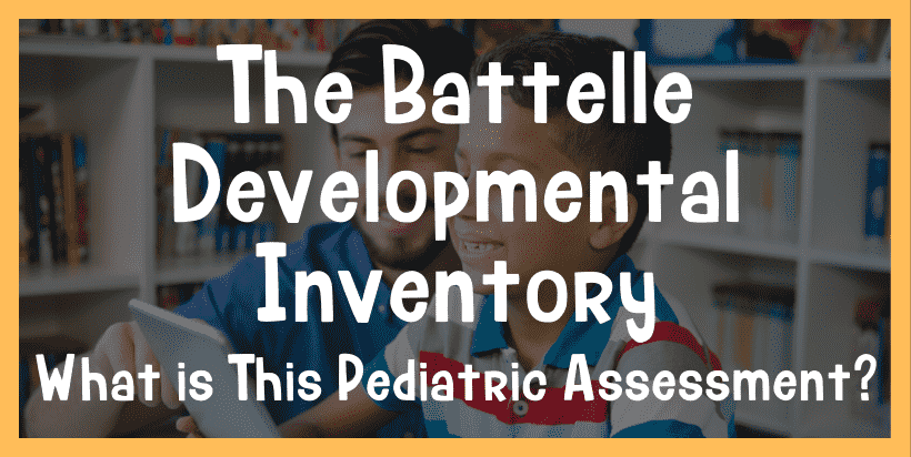 battelle developmental inventory